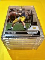 Tom Brady HOT PANINI PRIZM DRAFT PICKS MICHIGAN FOOTBALL CARD - Mint!