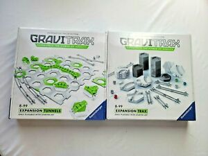New & Sealed  ( 2 )  276011 & 276233 Ravensburger GRAVITRAX 8-99 Expansion TRAX