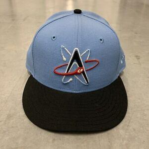Albuquerque Isotopes Hat New Era Blue Black Size 7 1/2 MILB Triple A Baseball