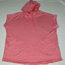 Merrell Selectwick Workout Sleeveless Muscle Shirt Pullover Hoodie Red Men XL