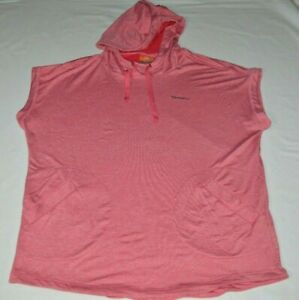 Merrell Selectwick Workout Sleeveless Muscle Shirt Pullover Hoodie Red Men XL