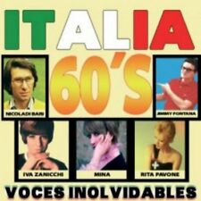 ITALIA 60'S - VOCES INOLVIDABLES - VARIOS - 5 CDS [CD]