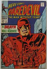 Daredevil #41 (Jun 1968, Marvel), NM+ condition, Death of Mike Murdock