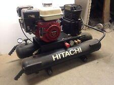 Hitachi 8 gal Air Compressor 5.5 hp Honda GX160 Gas Powered Portable Wheelbarrow