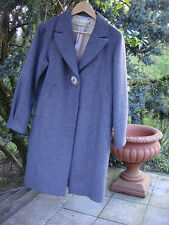 SCHUMACHER Mantel M Grau 100% Wolle