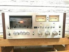 Pioneer Ct-F9191 Cassette Deck 1 Owner Pro Restored All Manuals/Papers Very Nice