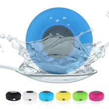Portable New Bluetooth 4.0 Speaker Subwoofer Shower Waterproof