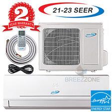12000 Btu 20.5 SEER Inverter Ductless Mini Split Air Condtioner Heat Pump 12,000