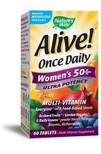 60 Tablets Nature's Way Alive! Once Daily Women's 50+ Ultra Potency