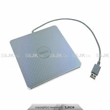 Dell Adamo 13 CD/DVD-RW Burner Slot External USB Optical Drive A13DVD01 SILVER