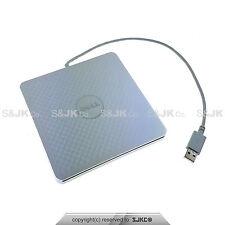 Dell Adamo 13 CD/DVD-RW Burner Slot External USB Optical Drive A13DVD01 SILVER