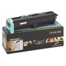 New Genuine Lexmark W840 Printer High Yield BLACK Toner W84020H 30K pages yield