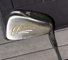 Rare RH Jerry Barber Golden Touch 56* Heel Spur Wedge Steel Sand Wedge SW