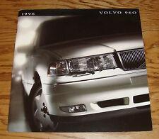 Original 1996 Volvo 960 Deluxe Sales Brochure 96