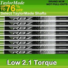 "8 TaylorMade GRAPHITE IRON SHAFTS .355 STIFF (+2"" OVER STANDARD TALL MEN'S SET)"