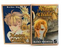 Moon Child 4 & 5  Manga English Reiko Shimizu Cmx Fantasy RARE OOP
