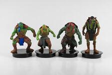 Ninja Turtles === 4 x PCO Topper Sockel Figuren