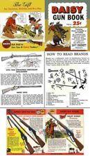 Daisy 1955 Gun Book #3 Handbook and color Catalog
