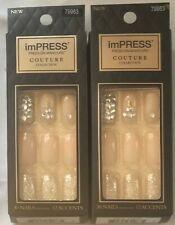 (2) Kiss Impressionare Kimmie Manicure Couture Collezione, BIPL03 Lush Vita