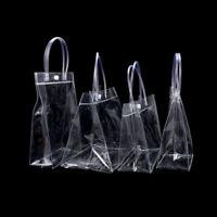 PVC Clear Stadium Approved Tote Bag Transparent Purse Shoulder Handbag Gifts