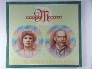 1996 One Hundred Dollars Fraser/Evans Paper and Polymer Collector Portfolio