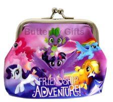 Kids Character Coin Purse Metal Clasp Pouch Bag PVC Kids Girls Miraculous Minnie