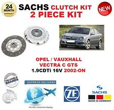 FOR OPEL VAUXHALL VECTRA C GTS 1.9 CDTi 16V 2002-ON SACHS 2 PIECE CLUTCH KIT