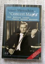 YEHUDI MENUHIN, CONCERT MAGIC – DVD, R-ALL, LIKE NEW, FREE POST IN AUSTRALIA
