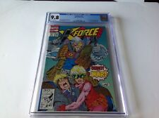 X-FORCE 7 CGC 9.8 WHITE COOL CABLE COVER BROTHERHOOD EVIL MUTANTS MARVEL COMICS