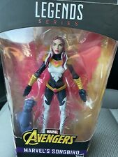 Marvel Legends Build A Figure Series 6-inch Marvel's Songbird.  BAF Is In Box