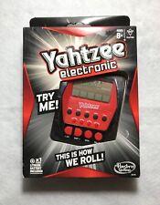 HASBRO YAHTZEE Electronic Handheld Game - NEW - Automated Scoring & Sound!
