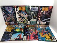 LOT OF 8 DC COMICS Legends Of The Dark Knight, Robin, Superman A6