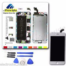 LCD Digitizer Glass Touch Screen Magnetic ScrewMat Tools for Iphone 6 Plus 5.5""