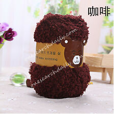 Super soft Yarn Dk Double Knitting Chunky Towelling Wool Ball Skeins Yarn 50g Z
