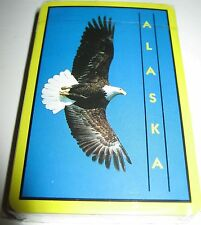 Alaska Bald Eagle Playing Cards Sealed Deck in Plastic Case New Hong Kong