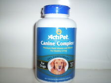 ACTIPET CANINE COMPLEX MULTIVITAMIN VITAMINS DOGS 90 CHEWS CHEWABLE TABLETS