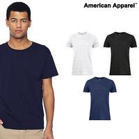American Apparel Power-washed tee (2011) Fine Jersey Soft T-shirt - Men Women T