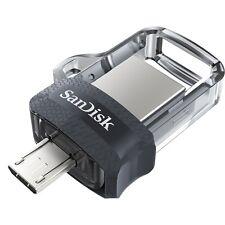 SanDisk 128GB OTG SDDD3 Ultra Dual microUSB 128G USB 3.0 Flash Drive SDDD3-128G