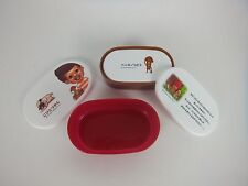 Kobito-Dukan Lunch Box 3 Pcs/Made in Japan/Beni-kinokobito/Bento/Container/New