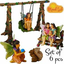 Fairy Garden Best Friends Day Miniature Set Of 6 Pcs, Premium Quality Hand & Kit