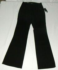 INC International Concepts Women's Pants Curvy Fit Black Size 2 NWT