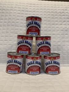EAGLE BRAND Borden Sweetened Condensed Milk 14oz. (6 cans) Exp 10/24/22