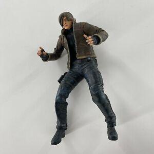 Leon S Kennedy with Coat Jacket Action Figure Resident Evil 4 Capcom NECA 2005