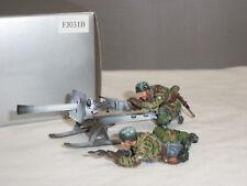 Thomas Gunn FJ031B allemand F J Puppchen Pistolet sur skis hiver métal Toy Soldier Set