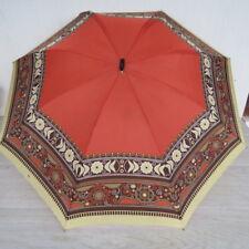 KNIRPS 2000 70er Jahre Regenschirm Schirm Damenschirm Taschenschirm Kunstleder