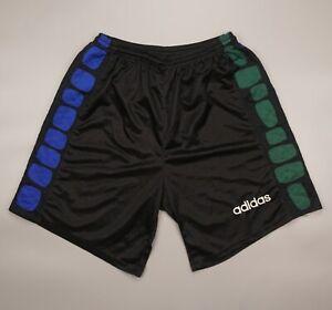 ADIDAS Vintage Goalkeeper Shorts 1994 World Cup Black USA RARE Retro GK Size XL