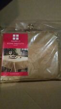 """NEW NIP Christmas Essential Home ROUND gold Damask Tablecloth 70"""""""