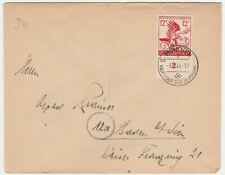 Germany German Empire 1944, Countryside Hunting in Innsbruck. FDC