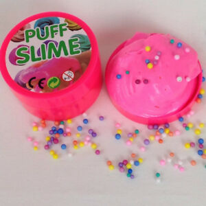 Fluffy Puff Slime Putty Decoration Foam 100g Can Kids Stress Relief Kids Toy /1