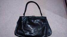 ICEBERG vintage black leather bag